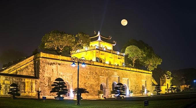 Inperial Citadel of Thang Long in Hanoi, Vietnam